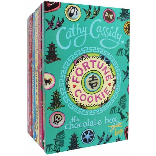 Cathy Cassidy The Chocolate Box Girls 6 Book Collection