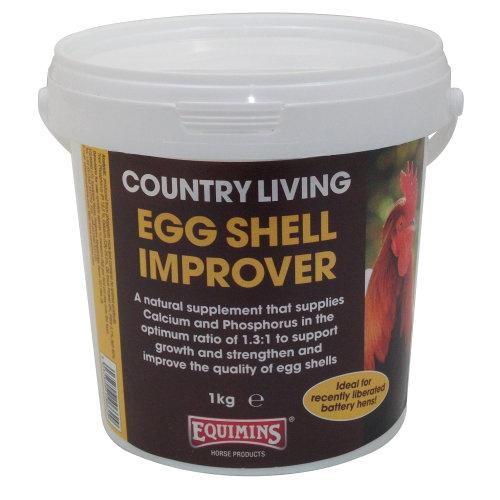 EQUIMINS COUNTRY LIVING EGG SHELL IMPROVER - 1kg