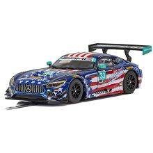 Scalextric C4023 Mercedes AMG GT3 - Riley Motorsports Team