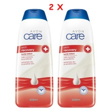 2 x Avon Care Skin Recovery Body Lotion  400ml