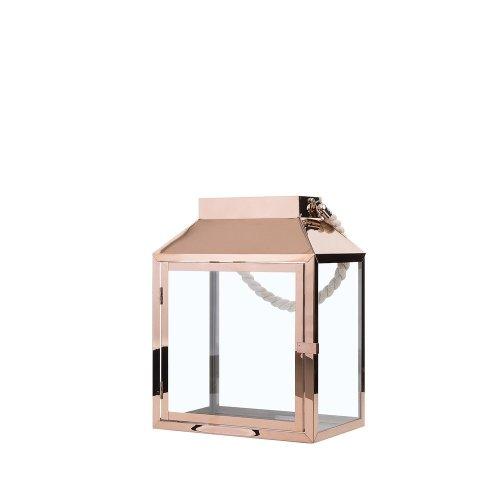 Rectangular Lantern Copper KASOS