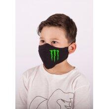 Monster Energy Drink Logo Kids Facemask 100%cotton