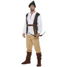 Robin Hood Hunter Fancy Dress Costume