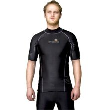 LavaCore Men's Short Sleeved Shirt (Black Medium)