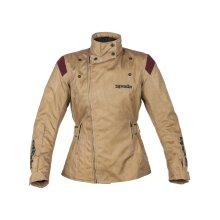 Spada Brown Rushwick Womens Motorcycle Waterproof Jacket - UK 10