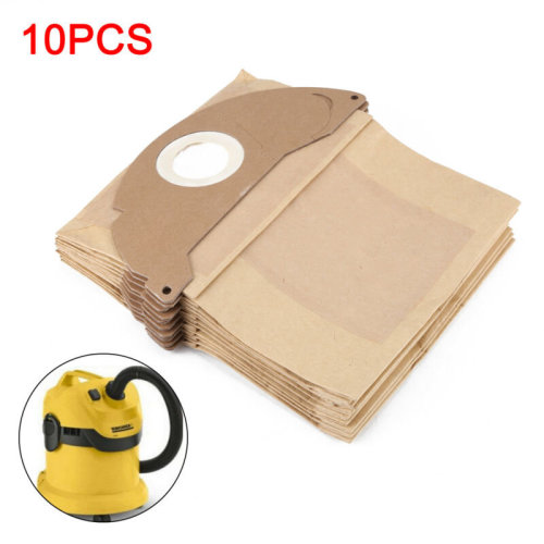 10 x Strong Dust Bags for Karcher WD2.200 MV2 IPX4 WD2240 Vacuum Cleaner Hoover