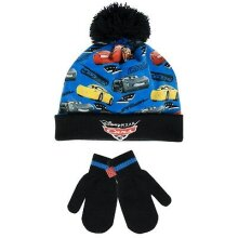 Disney Cars Boys Cars Hat and Gloves Set Age 4 to 6 Years