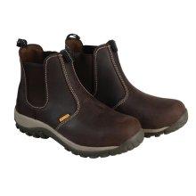 DeWalt DEWRADIAL10B Radial Safety Brown Boots UK 10 Euro 44