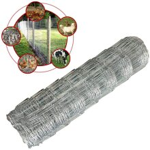 Stock Wire Fence Steel Netting Fencing Roll  Garden Farm Bounder