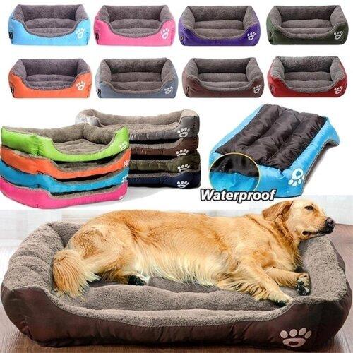 Warm Cozy Dog House, Soft Fleece Nest, Baskets, Ma, Autumn Winter Waterproof Kennel