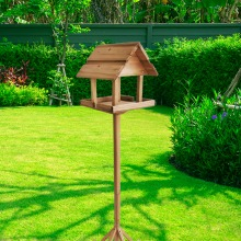 Garden Wooden Bird Table / House  Premium Quality