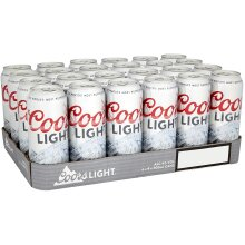 Coors Light Beer 24 x 500ml cans