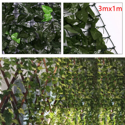 Artificial Ivy Hedge Screen
