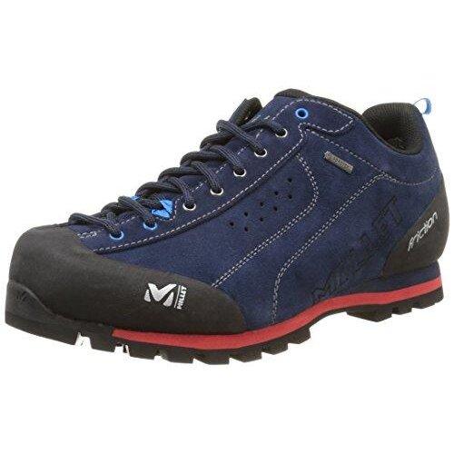 MILLET Men's Friction Competition Running Shoes Blue (Saphir/Rouge),9 UK(43 1/3 EU)