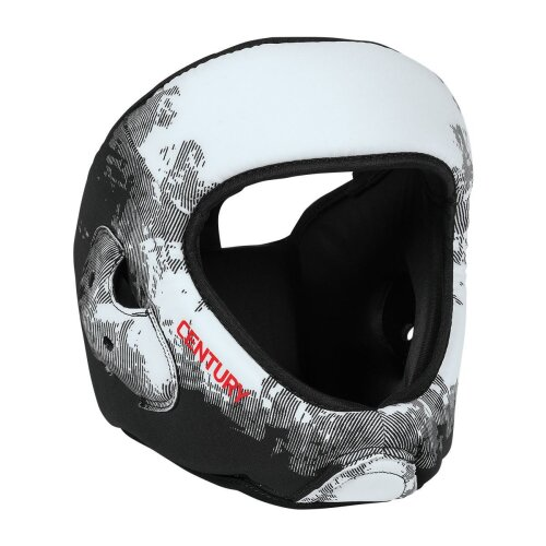 C-Gear Washable Sparring Head Guard White/Black - Youth