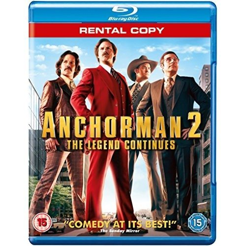 Anchorman 2 - the Legend Continues [blu-ray]