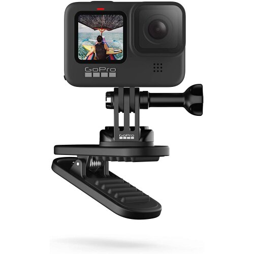 Magnetic Swivel Clip - Official GoPro Accessory, Black, ATCLP-001