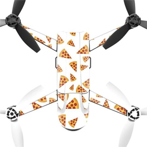 MightySkins PABEBOP2-Body By Pizza Skin Decal Wrap for Parrot Bebop 2 Quadcopter Drone - Body By Pizza