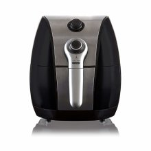 Tower T17022 Air Fryer with Rapid Air Circulation System, VORTX Frying Technology, 60 Minute Timer, 1500 W, 4.3 Litre, Black