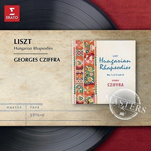 Georges Cziffra - Liszt: 7 Hungarian Rhapsodies [CD]
