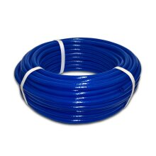 6mm Reinforced Blue PVC Fuel pipe for Speedway