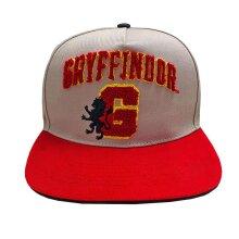 Harry Potter Gryffindor Embroidered Logo Snapback Cap