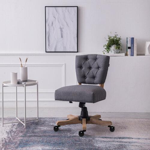 Office Chair Swivel Desk Armchair Adjustable Computer Chair