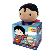 Superman Plush & Prime 3D 300pc Puzzle