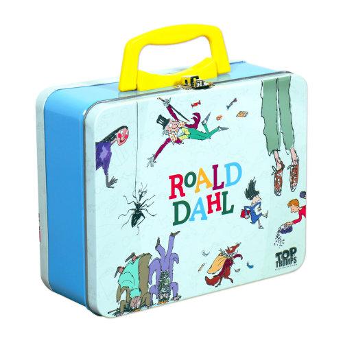 Roald Dahl Top Trumps Card Game Tin