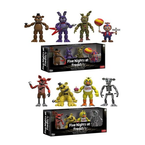 4PCS Five Nights At Freddy's Action Figures Toys