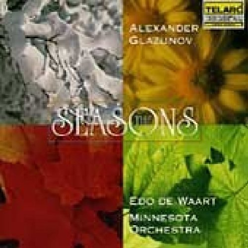 Edo De Waart - Alexander Glazunov: the Seasons [CD]