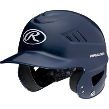 Rawlings Coolflo NOCSAE Molded Batting Helmet Navy One Size