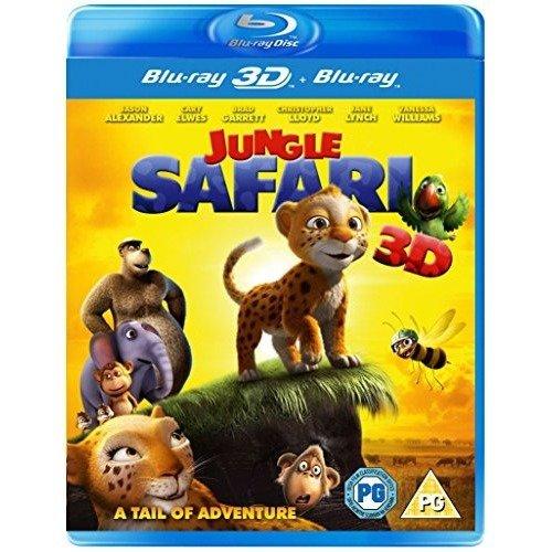 Jungle Safari 3D+2D Blu-Ray [2014]