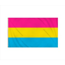 Pansexual Omnisexual Pride LGBTQ+ Flag (5ftx3ft)