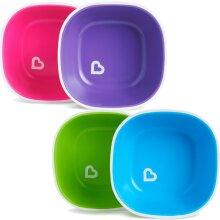 Munchkin Splash Plates 2Pk Anti Slip Baby Plate 2 pack