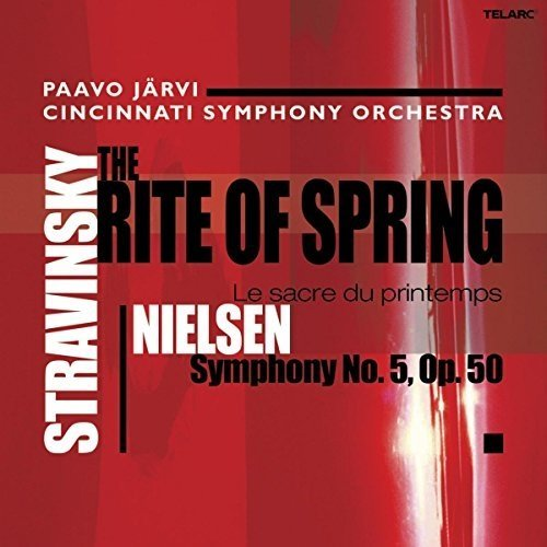 Cincinnati Symphony Orchestra and Paavo Jarvi - Stravinsky: the Rite of Spring, Nielsen: Symphony No.5, Op.50 [CD]