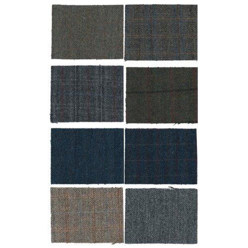 Harris Tweed Fabric Cloth Genuine 100% Pure Virgin Wool