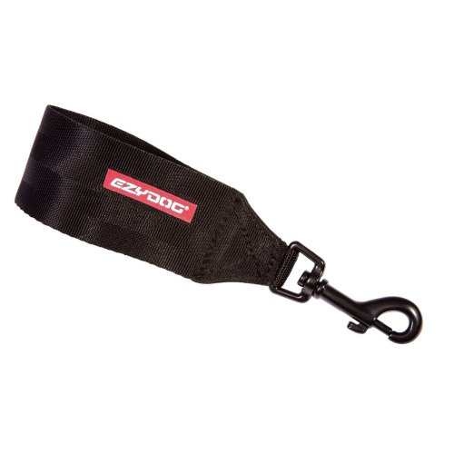 EzyDog Car Seat Belt Attachment (for Harness), Black
