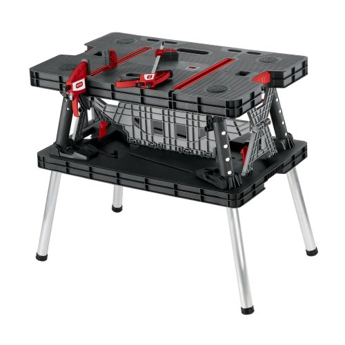 Keter 17182239 Master Pro DIY Folding Work Table