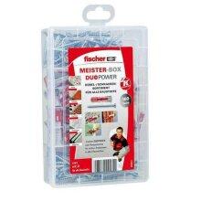 Fischer 535972 Meister-Box Duopower Universal Wall Plugs + Screws 160 Pcs