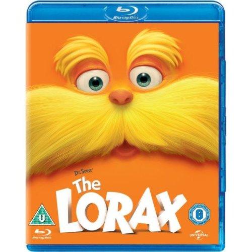 Dr Seuss - The Lorax Blu-Ray [2013]