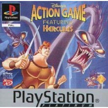 Sony Playstation - Hercules Action Game - Platinum - Used