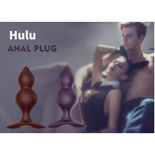 Silicone Beads Anal Butt Plugs Set of 3 Sex Toy