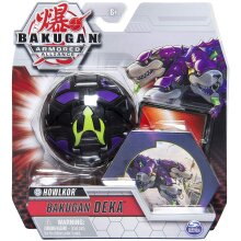 BAKUGAN 6054878 Deka Armored Alliance Jumbo Collectible Transforming Figure, for Ages 6 and Up, Grey