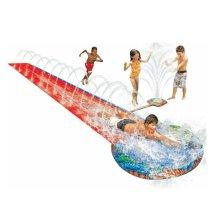 Soak N' Splash 16ft Water Slide With Sprinkler