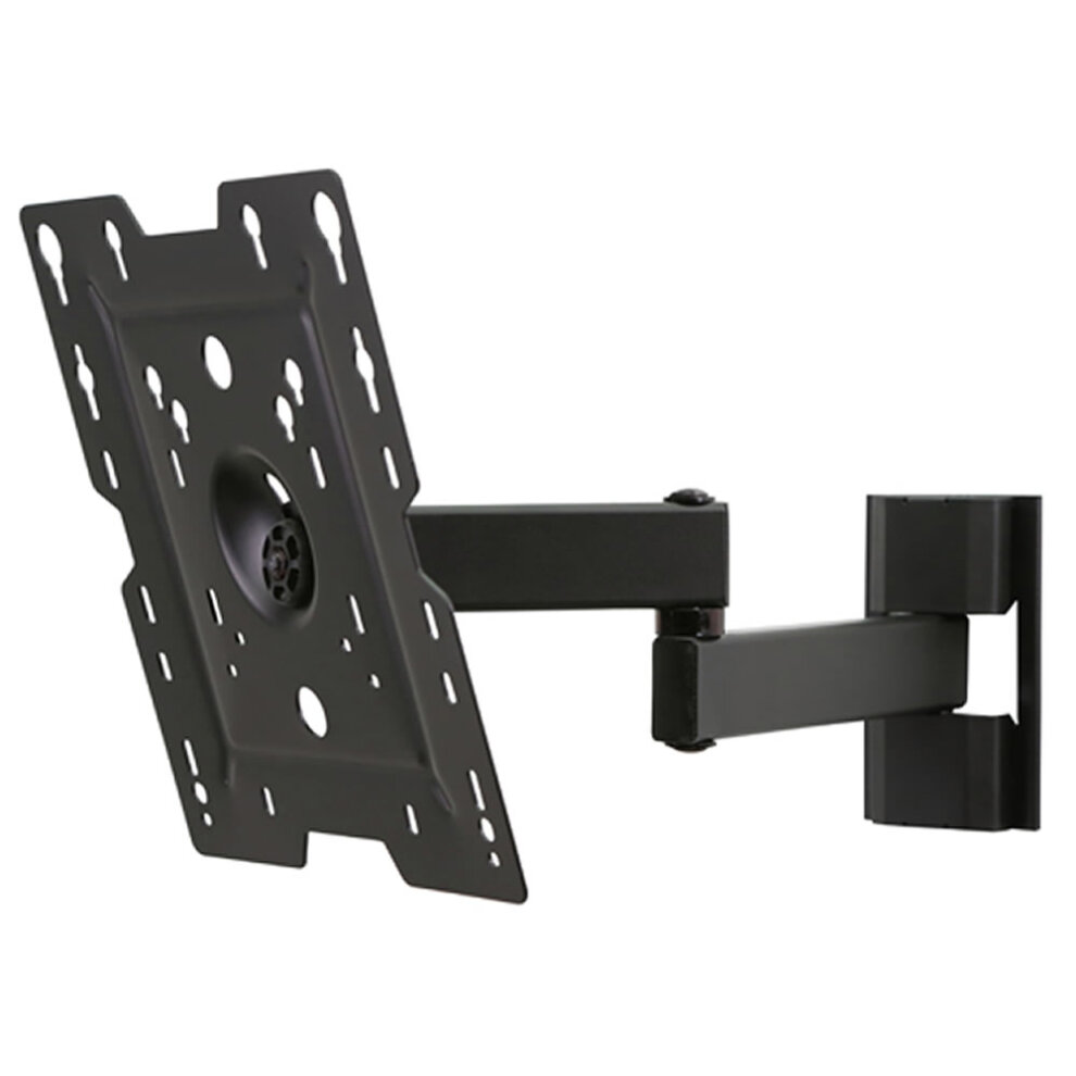 TV LCD LED Wall Bracket Swing & Pivot Double Arm Mount 22 to 37 25kg