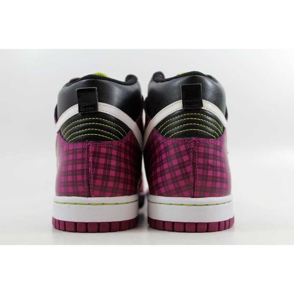 Nike Dunk High Black//White-Desert Pink 316604-008 Grade-School SZ 6Y