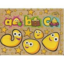CBeebies Wooden 9 Piece Jigsaw Puzzle - ABC
