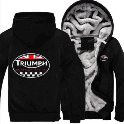 TRIUMPH Warm Jacket Coat Thicken Zip Cardigan