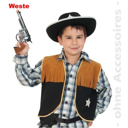 Sheriff Child Costume Wild West cowboy vest cowboy costume children costume Size